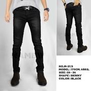 กางเกงยีนส์สกินนี่ (SKINNY)(สีดำ)