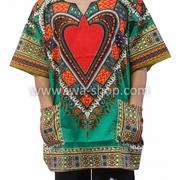 เสื้อจังโก้ ลายหัวใจ จังโก้หัวใจ เขียว