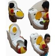 ฝารองนั่งชักโครกพลาสติก 2 ชั้น (ผู้ใหญ่-เด็ก) ส่งฟรีพัสดุ