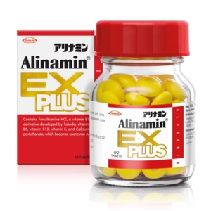 Alinamin Ex Plus 60 เม็ด