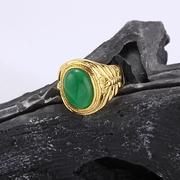 แหวนหยก ทองแท้18Kgp ไซด์ 11 ตัวเรือนคัทลายสวยจริงๆ