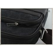 CV11-Black กระเป๋าสะพายข้าง ผ้าแคนวาส สีดำ