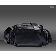 LT29 กระเป๋าสะพายข้าง หนัง PU สีดำ