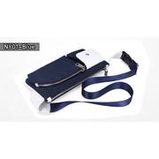 NY01-Blue กระเป๋าคาดอก ผ้าไนลอน สีน้ำเงิน