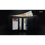 WS05 กระเป๋าสตางค์ใบสั้น แนวตั้ง กระเป๋าสตางค์ผู้ชาย หนัง PU เกรดเอ > WS05-Cream กระเป๋าสตางค์ใบสั้น แนวตั้ง กระเป๋าสตางค์ผู้ชาย หนัง PU เกรดเอ สีครีม