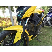 การ์ดหม้อน้ำสแตนเลสแต่งลายพิเศษThe Zสำหรับ Kawasaki Z250 และ Z300