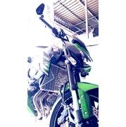 การ์ดหม้อน้ำสแตนเลสแต่งลายพิเศษ สำหรับ Kawasaki Z800
