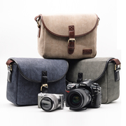 กระเป๋ากล้องmirrorless/DSLR Travel Life สีน้ำเงิน