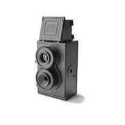 กล้องโลโม่ D.I.Y Twin Lens ดีไซน์สุดคลาสสิค น่าใช้ น่าสะสม สีขาว