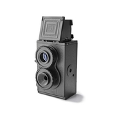 กล้องโลโม่ D.I.Y Twin Lens ดีไซน์สุดคลาสสิค น่าใช้ น่าสะสม สีฟ้า