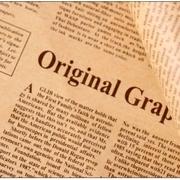 กระดาษหนังสือพิมพ์ ประกอบฉาก