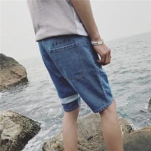กางเกงยีนส์ ขาสั้น > สีดำ