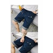 กางเกงยีนส์ขาสั้น ผู้ชาย > สีน้ำเงินเข้ม
