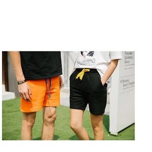 กางเกงขาสั้น แฟชั่นเกาหลี > สีส้ม