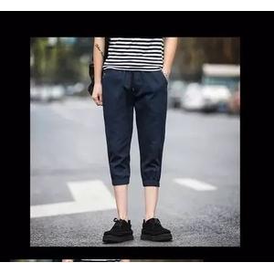 กางเกงขาสั้น jogger pants > สีกรม