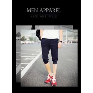 กางเกงวอร์มขาสั้น ผู้ชาย > สีเทาเข้ม