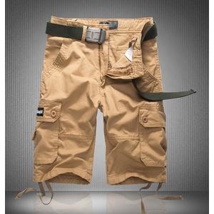 กางเกงขาสั้น > สีเขียวลายพราง