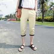 กางเกงขาสามส่วน > สีเขียว