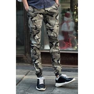 กางเกงลายพราง Jogger pants > สีน้ำตาลลายพราง