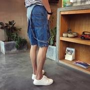 เสื้อผ้าผู้ชาย | ชุดเอี๊ยม | ชุดเอี๊ยมยีนส์ | ชุดเอี๊ยมขาสั้น