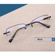 Eyewear Accessories กรอบแว่นสายตา (รุ่น : oem ) Black frame Metal Titanium