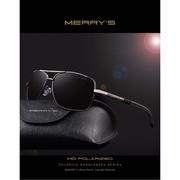 MERRYSTORE แว่นกันแดด รุ่น S8714 Black  frame Black lens