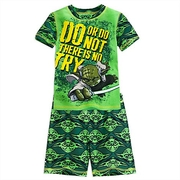 ชุดนอนเด็ก โยดา Yoda PJ PALS Short Set for Boys > ชุดนอนเด็ก โยดา ไซส์ : 6 ปี Yoda PJ PALS Short Set for Boys