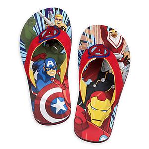 รองเท้าแตะเด็ก อเวนเจอร์ส Avengers Flip Flops for Kids > รองเท้าแตะเด็ก อเวนเจอร์ส ไซส์ : 18 ซม. Avengers Flip Flops for Kids