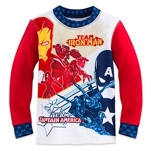 ชุดนอนเด็ก มาร์เวล กัปตัน อเมริกา Marvel's Captain America: Civil War PJ PALS for Boys > ชุดนอนเด็ก มาร์เวล กัปตัน อเมริกา ไซส์ : 5 ปี Marvel&apo