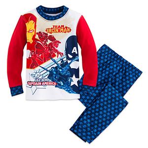 ชุดนอนเด็ก มาร์เวล กัปตัน อเมริกา Marvel's Captain America: Civil War PJ PALS for Boys > ชุดนอนเด็ก มาร์เวล กัปตัน อเมริกา ไซส์ : 6 ปี Marvel&apo