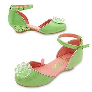 รองเท้าคัชชูเด็ก ทิงเกอร์ เบลล์ Tinker Bell Costume Shoes for Kids > รองเท้าคัชชูเด็ก ทิงเกอร์ เบลล์ ไซส์ : 17 ซม. Tinker Bell Costume Shoes for Kids
