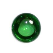 เพชรพญานาค ขนาด 1 ซม สีเขียว