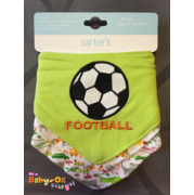 BIB054••เซตผ้ากันเปื้อน•• / ลายบอล-1 (Carter's)