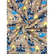 ผ้าห่มเด็ก ผ้าห่มขนแกะ ผ้ากำมะหยี่ปะการัง / ลายที่ 11