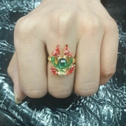แหวนพญานาคเกี้ยว เหนี่ยวทรัพย์