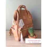 กระเป๋าเป้ Anello Leather pink (Mini)