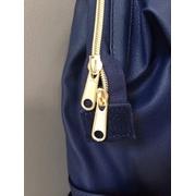 กระเป๋าเป้ Anello Leather Navy (Standard) หนัง PU กันน้ำ
