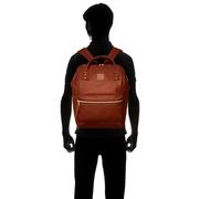 กระเป๋าเป้ Anello Leather brown (Mini)