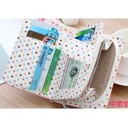 กระเป๋าสตางค์ผู้หญิง cute bag สี light pink (Short)