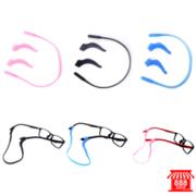 ชุดซิลิโคนติดแว่นตากันลื่น 3 ชิ้นในกล่อง (สีดำ) 8881457BK109