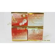 ครีมโสมผสมผงไข่มุก KIM สูตรลดฝ้าถาวร กล่องแดง ของแท้ราคาส่งถูก Whitening Ginseng and Pearl Cream
