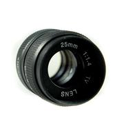Fujian CCTV 25 MM F1.4 เลนส์ CCTV ใช้กับ ค่าย แคนนอล Canon EOS แถมฟรี Adapter EOS สำเนา