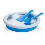 เครื่องทำไอศกรีมผัด ไอติมผัด มินิ ไม่ใช้ไฟฟ้า คุณภาพสูง - สีฟ้า / Mini Non-electronic Quick Ice Cream Maker Plate High Quality - Blue