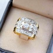 แหวนทองไมครอนผู้ชาย