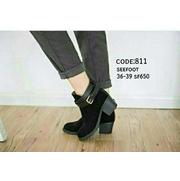 รองเท้าสวย  #รองเท้าบูทส้นตัน