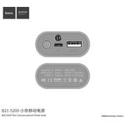 Hoco powerbank - B21 ความจุ 5,200 mAh
