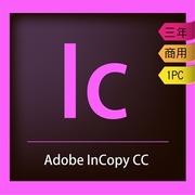 Adobe InCopy CC Enterprise Cloud Licensing Edition (three year)