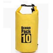 [TAITRA]  【THENICE】กระเป๋ากันน้ำ น้ำหนักเบา ขนาด 10L (สีเหลือง) / กระเป๋าอาบน้ำ / กระเป๋าเดินทาง /