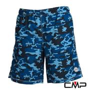 (CMP) [CMP] ลายพรางกระดานชายหาดแบบสบาย ๆ - ชาย (ลายพรางสีน้ำเงิน)