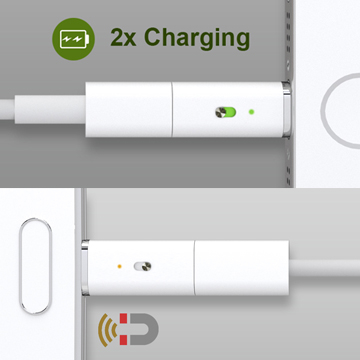 (Muconnect)Fast charge, safe, magnetic connector Micro USB charger